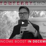 8% Income Boost in December